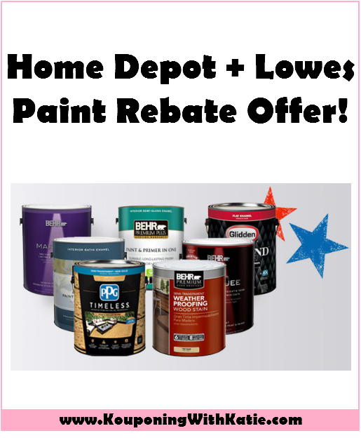 home depot rebates awesome home depot or lowes paint rebate offer 987