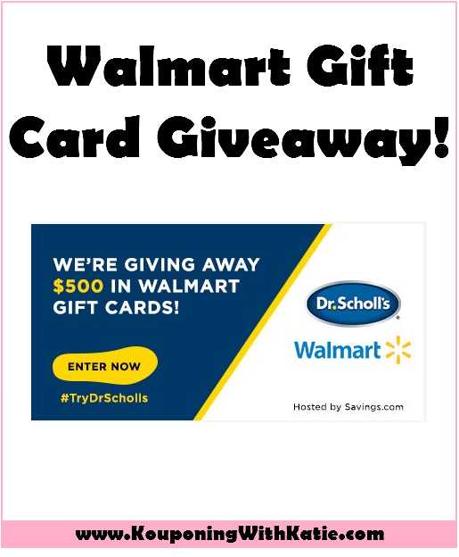 Hot $500 In Walmart Gift Cards Giveaway + High Value $10