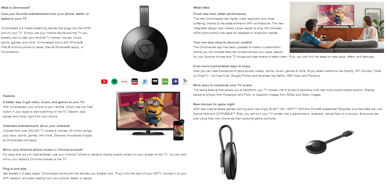 chromecast about - Kouponing With Katie