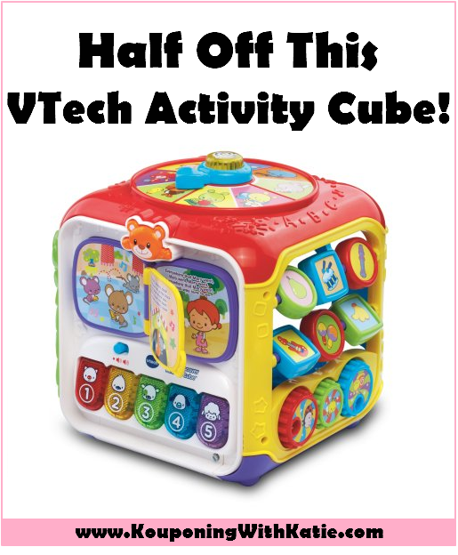 Vtech Sort And Discover Activity Cube Just 14 88 At Walmart Reg 30 Kouponing With Katie